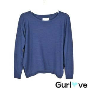Velvet by G&S Blue Soft Pullover Sweater Size S